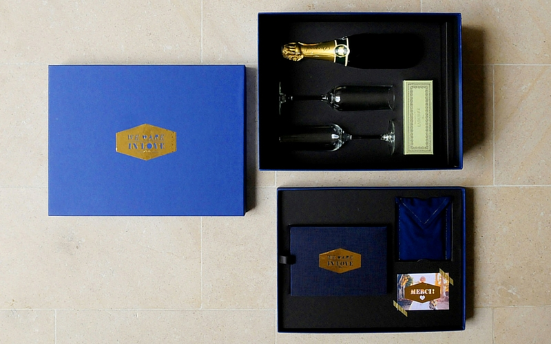 Coffret luxueux We are in love 3 - 800 x 500
